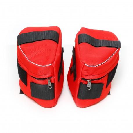 IDC® - Powerharness Sidebag - size 3 - 4 Κόκκινο
