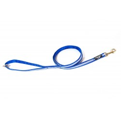 IDC® - Tubular Webbing Leash with Handle & O Ring - 1,2 m - 14 mm Bleu
