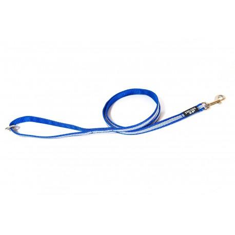 IDC® - Tubular Webbing Leash with Handle & O Ring - 1,2 m - 14 mm Μπλε