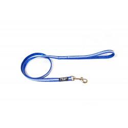 IDC® - Tubular Webbing Leash with Handle - 1,8 m - 14 mm Μπλε
