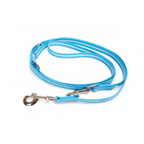 IDC® - LUMINO Leash Adjustable without Handle - 2,2 m Ακουαμαρίνα
