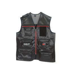 K-9® Unit Short vest - Black/Red Size L