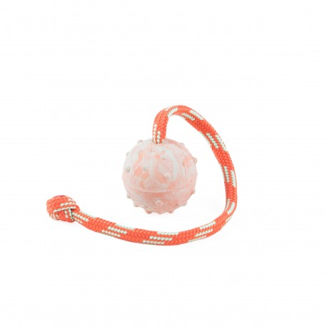 IDC® Natural rubber ball with string - 5 cm