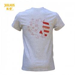 K9® Unit Stars & Stripes T-Shirt, Grey