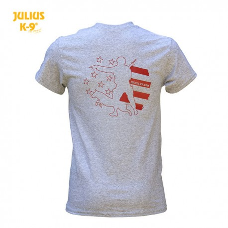 K9® Unit Stars & Stripes T-Shirt, Grey