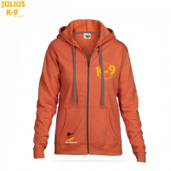 "K-9® Unit Full-Zip Hoodie - ""SUNSET"""