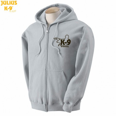 K-9® Unit Full-Zip Hoodie - Gray