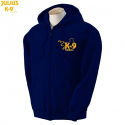 K-9® Unit Full-Zip Hoodie - Navy Blue