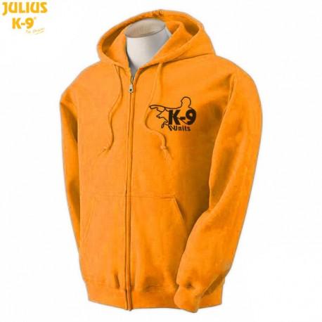 K-9® Unit Full-Zip Hoodie - Πορτοκαλί