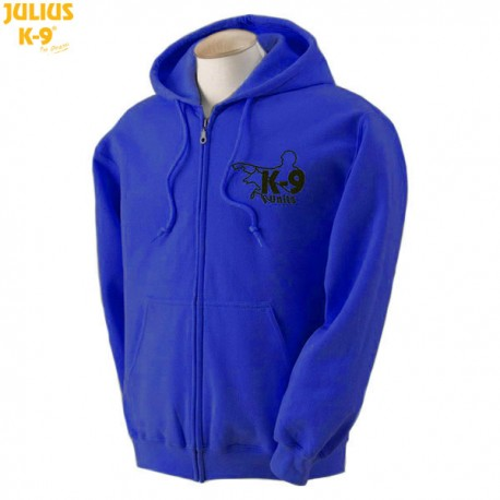 K-9® Unit Full-Zip Hoodie - Royal Blue