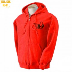 K-9® Unit Full-Zip Hoodie - Red