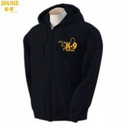 K-9® Unit Full-Zip Hoodie - Μαύρο