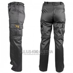 K-9 Units zipp-off Trousers - Black